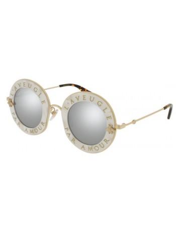 Slnečné okuliare GUCCI, model GG0113 white gray