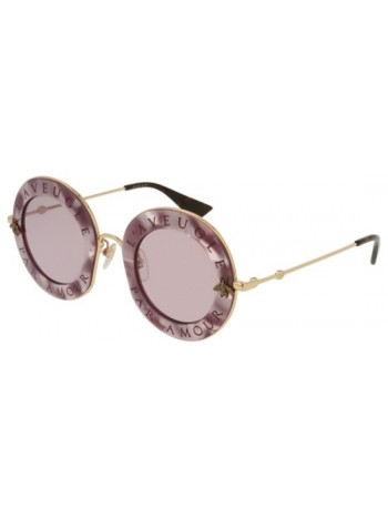 Slnečné okuliare GUCCI, model GG0113 violet pink