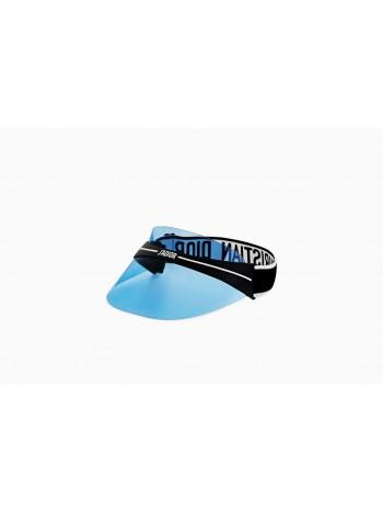 Šilt Dior visor modrý