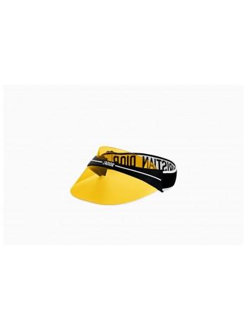 Šilt Dior visor žltý