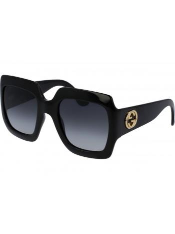Slnečné okuliare značky Gucci model GG0053S čierne