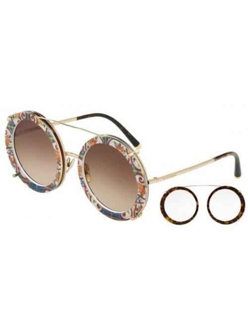 Slnečné okuliare Dolce & Gabbana, model DG2198 round hawai