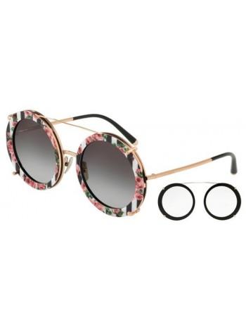 Slnečné okuliare Dolce & Gabbana, model DG2198 round black romantic