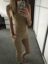 Koženkové nohavice Antonina Gatsuli