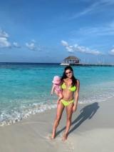 Luxusné trojuholníkové plavky s čipkou Antonina Gatsuli ružové