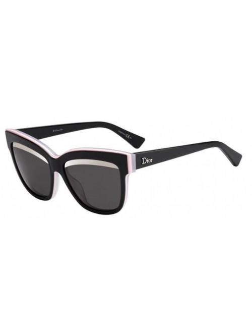 Slnečné okuliare DIOR, model DIORGRAPHIC / BKPK WHTE (5S)