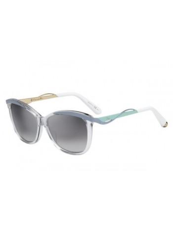 Slnečné okuliare DIOR, model DIOR METAL EYES CRYSTAL BLUE AQUA